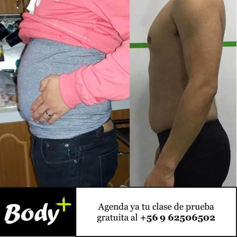 Body+ antes y después de Ingenium