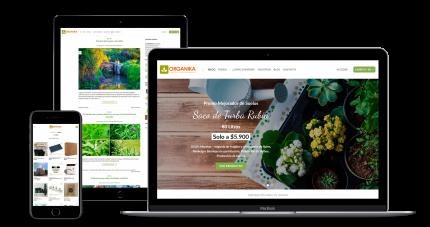 Mockup web Agencia Ingenium